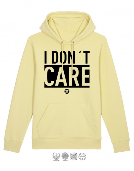 Men Hoodie I don't care