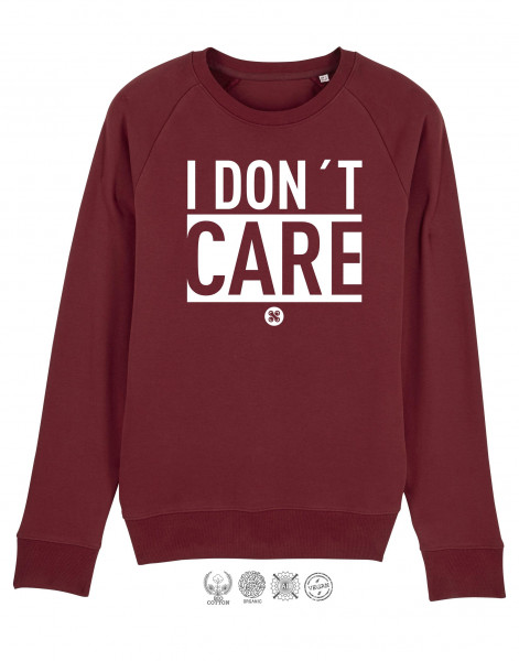 Men Sweater I don't Care