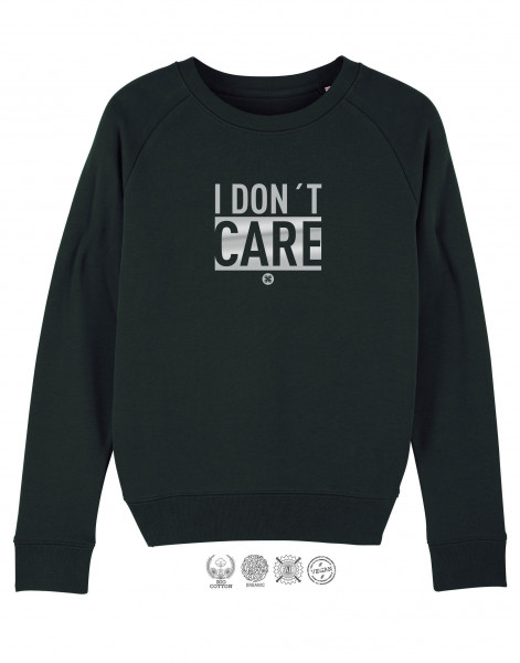 Women Sweater I don't care