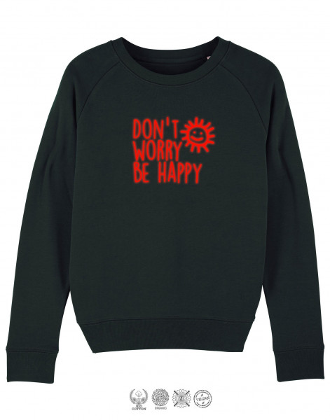 Women Sweater Don't worry be happy