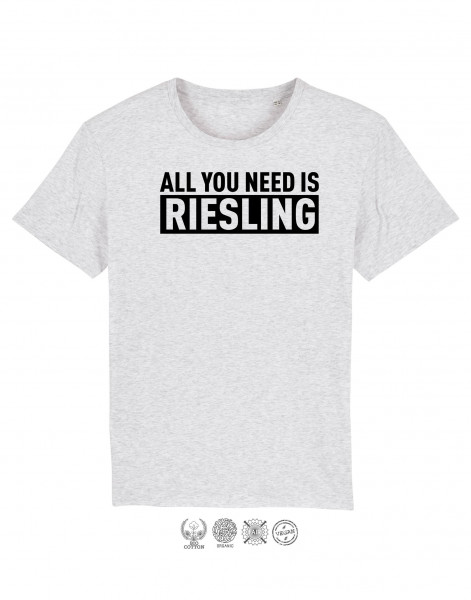 Men T-Shirt All you need is Riesling