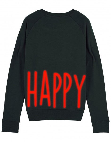 Women Sweater Happy