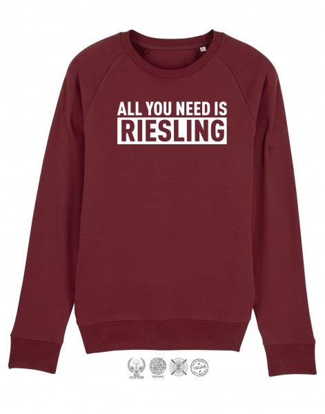 Men Sweater All You need is Riesling